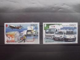 Jersey    Europa  2013 **    Postfahrzeuge - Europa-CEPT