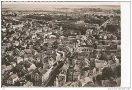 ROMILLY S  SEINE   VUE  AERIENNE  HOTEL DE VILLE  ET LA RUE DE LA  BOULE  D  OR - Romilly-sur-Seine