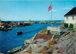 Ulvoysund, Norway Postcard Used Posted To UK 1967 Nice Stamp - Norvège