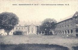 NORD PAS DE CALAIS - 62 - PAS DE CALAIS - HARDINGHEN - Cour Intérieure Du Château - Francia
