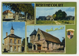 {65046} 60 Oise Berthecourt , Multivues - Francia