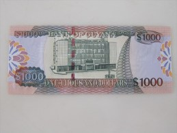 Bank Of Guyana,1000 Dollars, Last 3 Serial Number Specially With 111 - Guyana