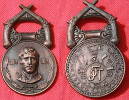 MEDAGLIA IN BRONZO GRANDE MODULO 1984 GRECA? - Jetons & Médailles