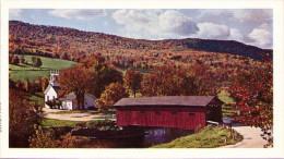 Bridge At The Green - West Arlington, Vermont - Etats-Unis