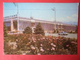 Airport - Car Volga - Alma Ata - Almaty - 1982 - Kazakhstan USSR - Unused - Kazakhstan