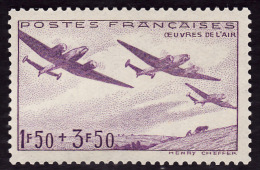 FRANCE 1942 -  Y&T 54 - Oeuvres De L'air - NEUF** -  Cote  3e - France
