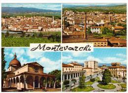 CO159  AREZZO - MONTEVARCHI   QUATTRO VEDUTE - Arezzo