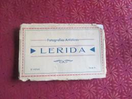 ESPAGNE - LERIDA -  10 VISTAS FOTOGRAFIAS ARTISTICAS - PHOTOS SPLENDIDES - Espagne
