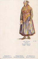 Finlande - Suomi - Costumes Folklore - Femme Mariée - Finland