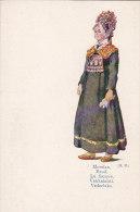 Finlande - Suomi - Costumes Folklore - Fiancée - Finland