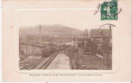 ST CLOUD CHEMIN DE FER PARIS VERSAILLES FORT DU MONT VALERIEN (TRAIN)  1914 - Saint Cloud