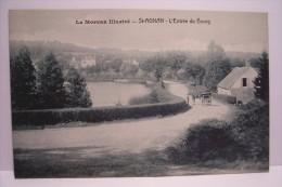 SAINT AGNAN  ---l´entrée Du Bourg - Frankreich