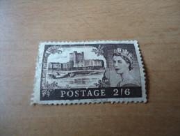 Großbritannien: 1 Wert Burgen - 1952-.... (Elisabeth II.)