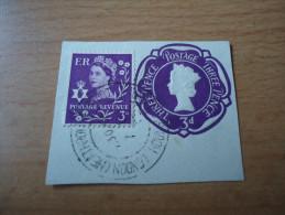 Großbritannien: Queen Elizabeth II 3 Penny Plus Reliefdruck - 1952-.... (Elisabeth II.)