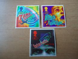 Großbritannien: 3 Werte Science Fiction 1995 - 1952-.... (Elisabeth II.)