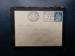 42/763   LETTRE  1923 POUR L'ALLEMAGNE - Switzerland