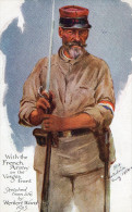 CPA.Illustrateur Herbert Ward.Militaires.Front Des Vosges.1915. - Altre Illustrazioni