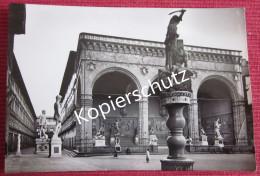 Ansichtskarte Foto Postkarte Italien Firenze Loggia Della Signoria Florenz - Firenze (Florence)