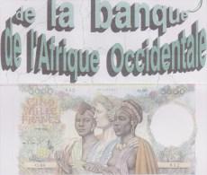 Les Billets De La Banque De L´Afrique Occidentale édition En Noir Et Blanc De 1997 De J-L Aubert - Livres & Logiciels