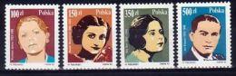 Poland 1990 Series - Mi#3254-57 - Polish Opera Singers - PLS266 - Singers