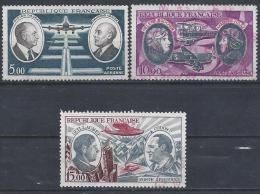 France Poste Aérienne N°46 à 48 Obl. - Airmail