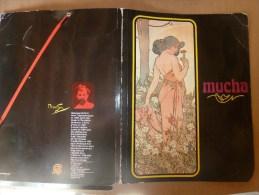 """1981  Chemise De Classement Ou Porte-document Fantaisie  Décoration Mucha """"L'OEUILLET""""....biographie De L'auteur - Other Collections"""