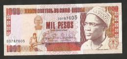 [NC] GUINEA - BISSAU - BANCO CENTRAL De GUINE' BISSAU - 1000 PESOS (1993) - Guinea–Bissau