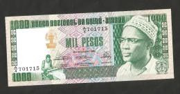 [NC] GUINEA - BISSAU - BANCO CENTRAL De GUINE' BISSAU - 1000 PESOS (1978) - Guinea–Bissau