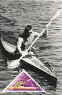 D17054 CARTE MAXIMUM CARD 1973 HUNGARY - CANOE CP ORIGINAL - Canoe