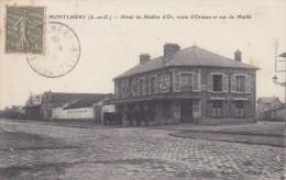 MONTLHERY - Hotel Du Maillet D'Or, Route D'Orléans Et Rue De Maillé - Montlhery