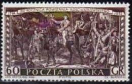 Poland 1954 Mint - Mi#883 - 0,60 Zł -  160. Anniv. Of Kosciuszko Uprising - Gen. T.Kosciuszko And Insurgents - 1944-.... Republic