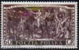 Poland 1954 Mint - Mi#883 - 0,60 Zł -  160. Anniv. Of Kosciuszko Uprising - Gen. T.Kosciuszko And Insurgents - Unused Stamps