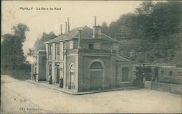 76 PAVILLY / La Gare Du Haut / - Pavilly