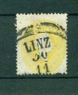 N°17. 2K Jaune Oblitéré Linz - Usados