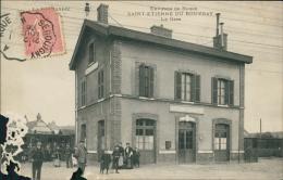 76 SAINT ETIENNE DU ROUVRAY / La Gare / - Saint Etienne Du Rouvray