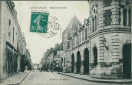 72 SAINT CALAIS / Rue De La Halle / - Saint Calais
