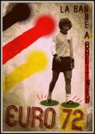 CARTEL AFFICHE REPRODUCTION - EURO 72 - PAUL BREITNER Size : 22x16 Cm. Aprox. - Afiches