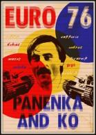 CARTEL AFFICHE REPRODUCTION - EURO 76 - PANENKA Size : 22x16 Cm. Aprox. - Afiches