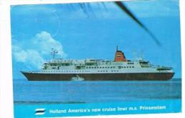SCH-281   M.S. PRINSENDAL  - H.A.L. - Passagiersschepen