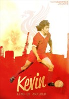 CARTEL AFFICHE REPRODUCTION - KEVIN KEEGAN SIZE:22X16 CM. APROX. - Afiches