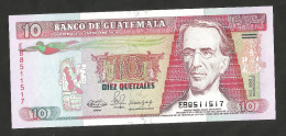 [NC] GUATEMALA - BANCO De GUATEMALA - 10 QUETZALES (1990) - Guatemala