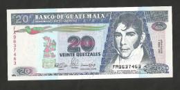 [NC] GUATEMALA - BANCO De GUATEMALA - 20 QUETZALES (1990) - Guatemala