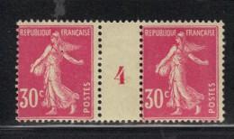 FRANCE N° 191 *  En Paire Millésimée - Millésime