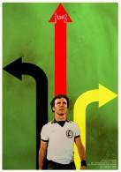 CARTEL AFFICHE REPRODUCTION - FRANZ BECKENBAUER SIZE:22X16 CM. APROX. - Afiches