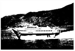 (555) Ship - H/S Sirena (older Postcard) - Traghetti