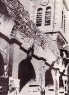 MILITARIA.GUERRE 39/45.HISTOIRE VECUE DE LA RESISTANCE.DOCUMENT REPRODUIT.EGLISE DE VASSIEUX EN VERCORS BRULEE - Reproductions