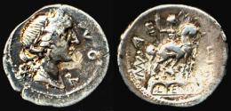 [DO] ROMANE REPUBBLICANE - Fam. Aemilia DENARIO[Denier] (Argento / Argent) - 1. Republic (280 BC To 27 BC)