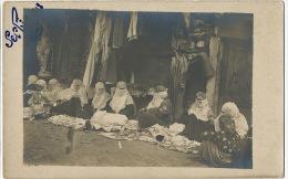 Serbie 1918 WWI Real Photo  Groupe Femmes Voilées Muslim Women Kosovo ? Not Used - Serbie