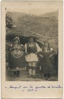 Serbie ? Balkans 1918 WWI Real Photo   Not Used Very Curious Big Dress - Serbie