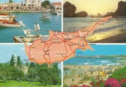 Views & Map  Cyprus  # 03440 - Cyprus